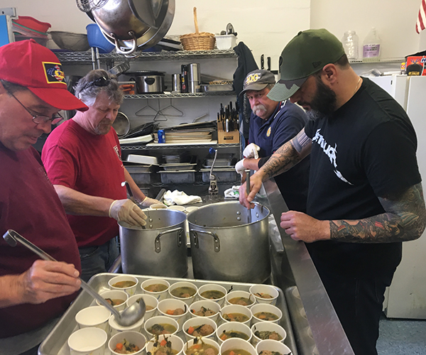 American Legion Food Prep