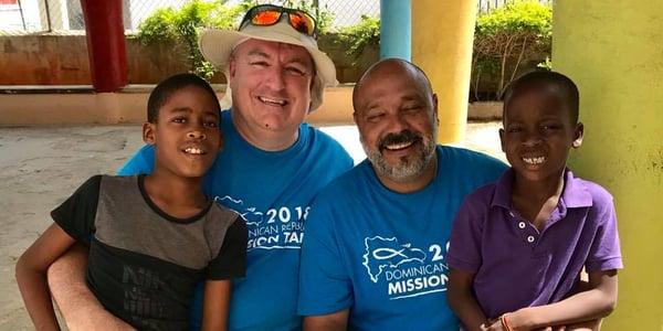 MSCU EVP, Hank, on missions trip in the Dominican Republic