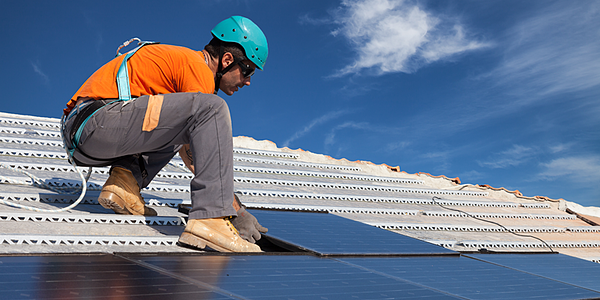 Solar technology helps to create and sustain job growth.