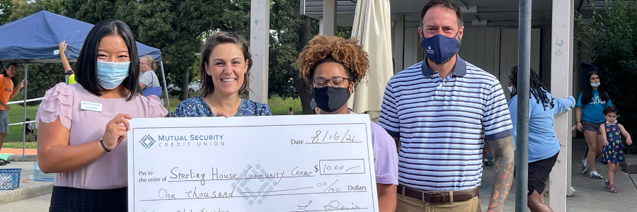 MSCU Employees Donate $1,000 to HelpLocal Kids Get Ready for the School Year